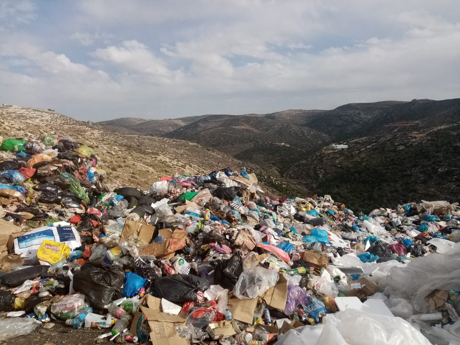SQN 1   Solid Waste Crisis in the West Bank